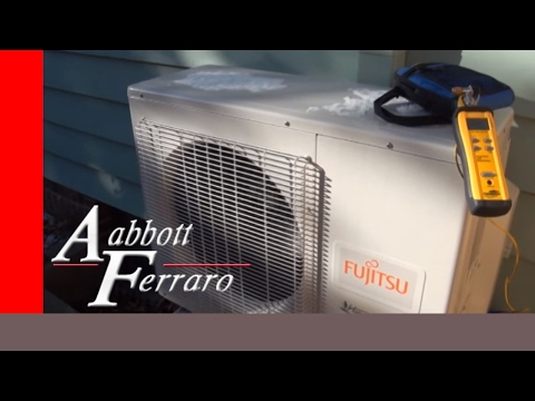 Ductless Fujitsu Mini Split Heat Pump Running in -12F in St Paul MN