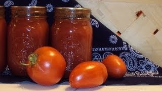 How to Can Tomato Soup ~ Canning Tomato Soup