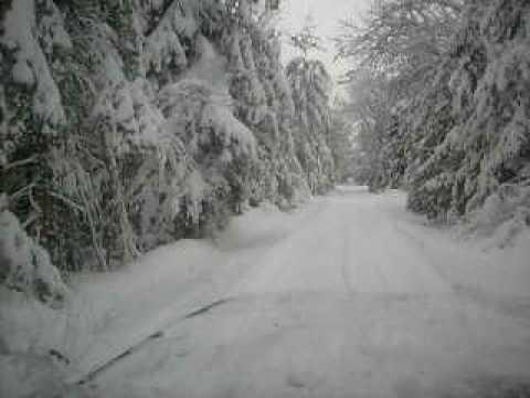 Driving In The Snow, alpena mi, 49707