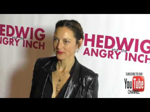 Lola Glaudini at the  Night Of Hedwig And The Angry Inch at the Pantages Theatre in Hollywood