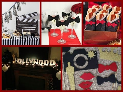 Oscars Party Ideas - Red Carpet Party Decorations - Hollywood Birthday Party Ideas