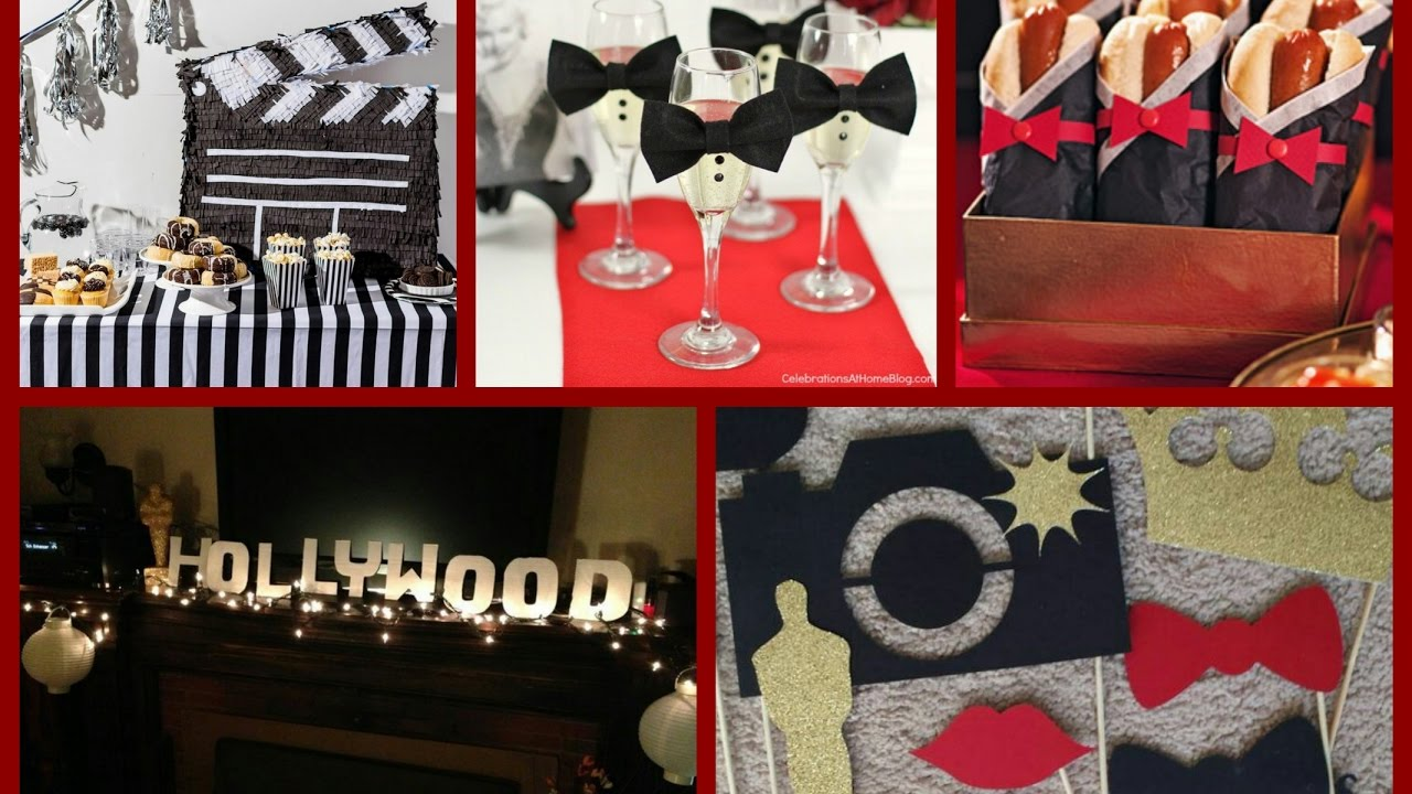 Oscars party ideas red carpet party decorations for Hollywood party dekoration