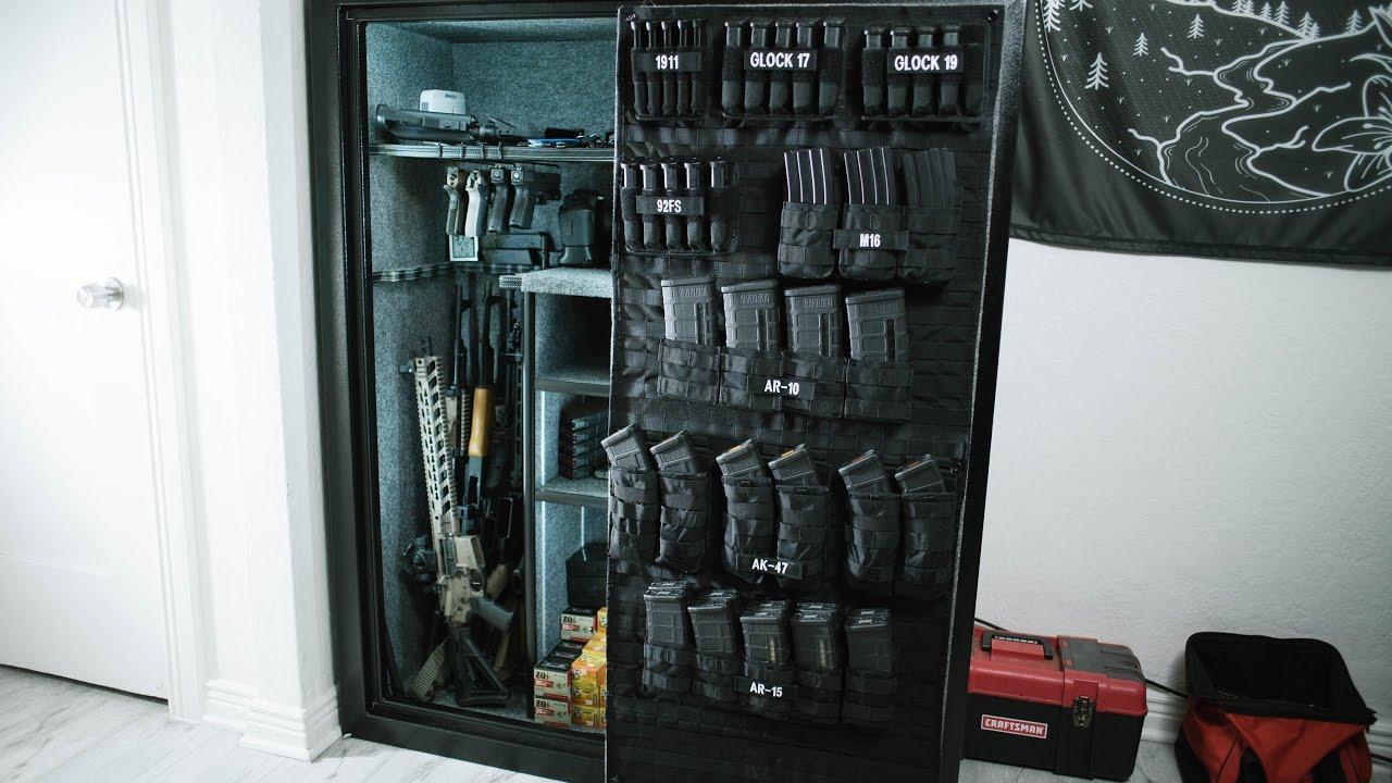 Custom Molle Gun Safe Door Organzier