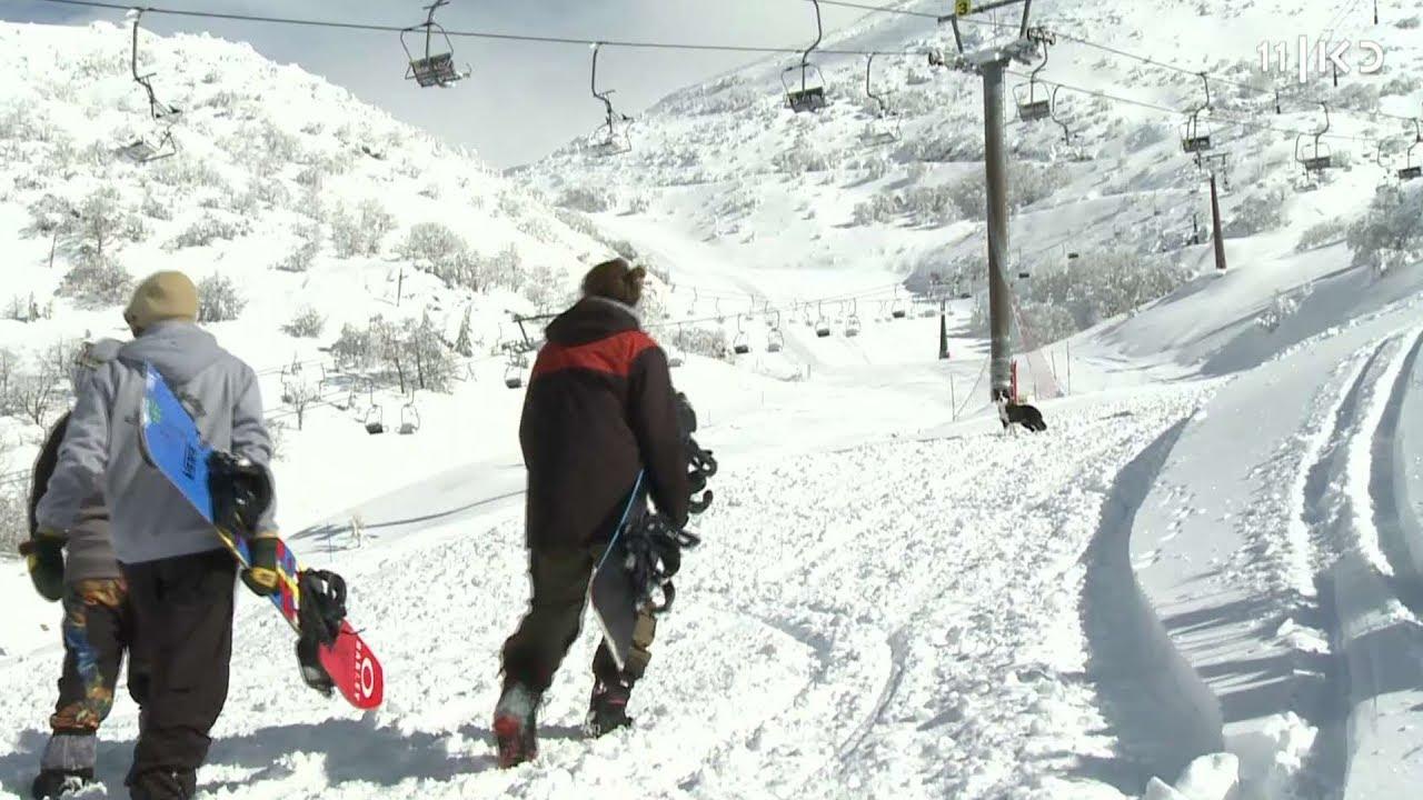 שלג מהאגדות: בחרמון נערכים לקראת בואם של אלפי מבקרים