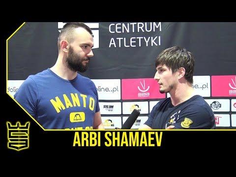 Arbi Shamaev o Pudzianie, Pawle Jóźwiaku i WCA