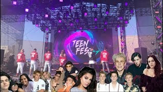 FIRST EVER TEEN CHOICE FESTIVAL PRETTY MUCH, BEA MILLER & MORE