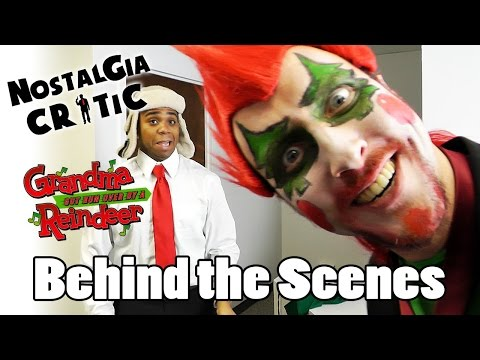 Behind the Scenes - Nostalgia Critic: Grandma Got Run Over by a Reindeer
