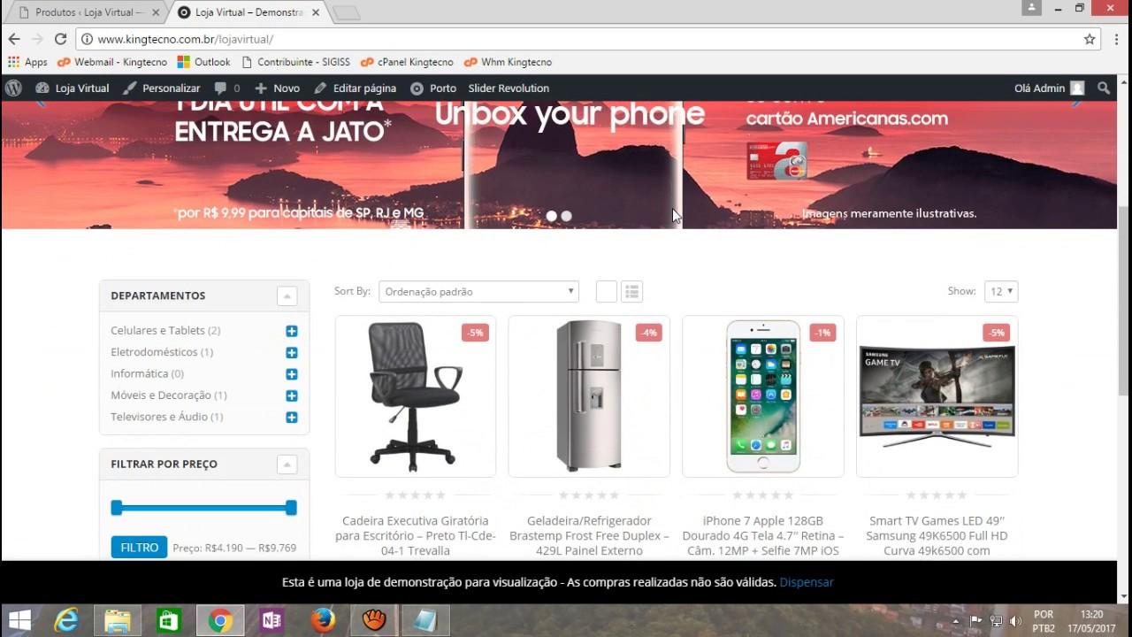 1dec835a46 Tutorial - Inserindo Produtos na Loja Virtual (Wordpress 4.7.5 + Woocommerce  3.0.7)