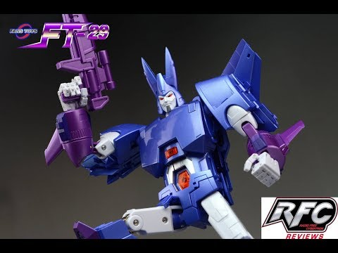 Fans Toys FT-29 Quietus (Not Transformers Masterpiece Cyclonus) Review