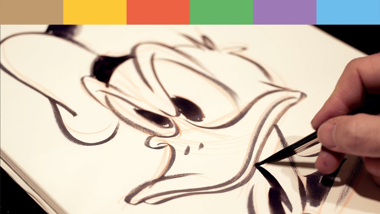 How To Draw Disney's Donald Duck