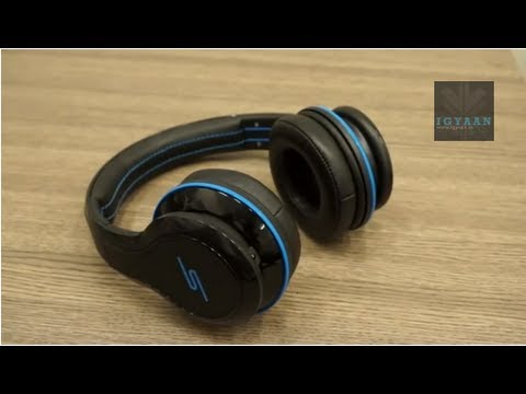 SMS Audio Street By 50 Cent Over The Ear Headphones Wired - Unboxing and Hands on - iGyaan