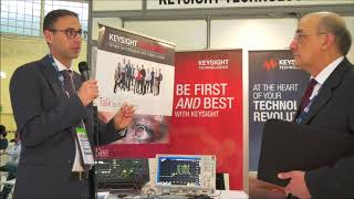 Alessandro Sanasi, Field Application Engineer, Keysight Technologies Italy