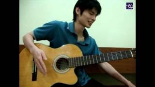 akustik gitar belajar lagu cinta dbagindas