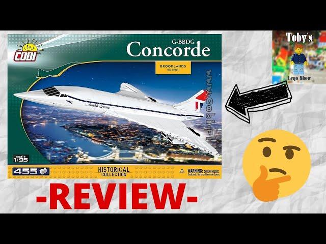 Kein Überflieger! - Cobi Concorde G-BBDG - Review + Fazit