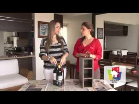 Hazlo en tu hogar c mo hacer una cava de vinos youtube - Como hacer sorbete de cava ...