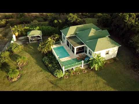 Villa Calamansi in Saint Kitts & Nevis, W.I. (Filmed in 4K with the Mavic Pro)