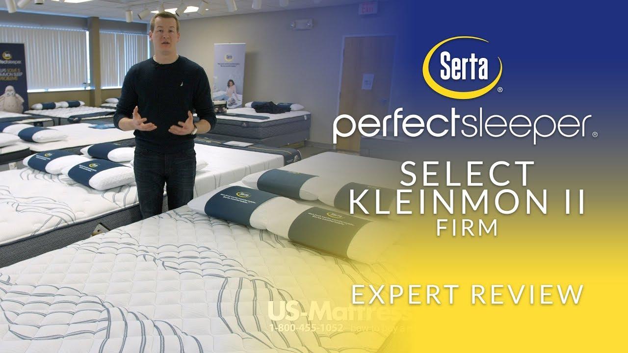 serta perfect sleeper select kleinmon ii firm mattress expert review