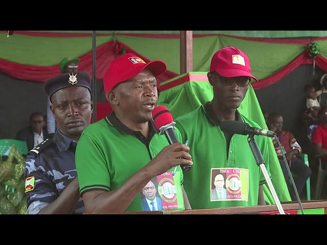 #EjohezaNews: Agaton Rwasa ati uburundi bukeneye impinduka ivyo yabivugiye i #Karusi