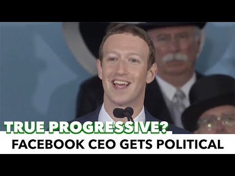 Mark Zuckerberg Gets Progressive, Calls For Universal Basic Income