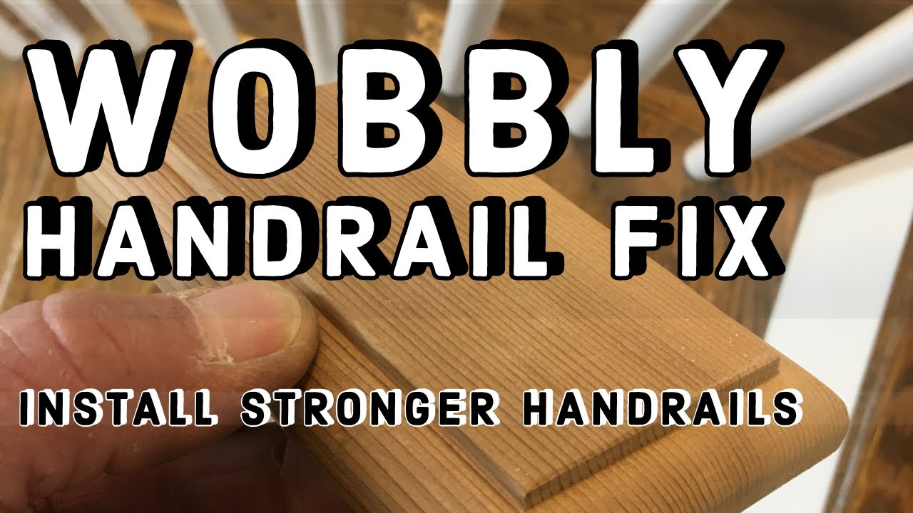 How To Fix A WOBBLY Handrail