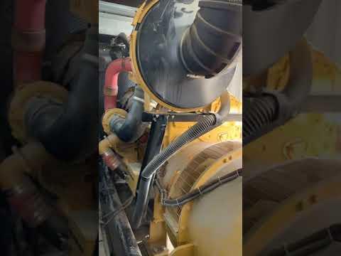 1000 kW CAT C32 Diesel Generator (Portable) Running/Load Testing (2)