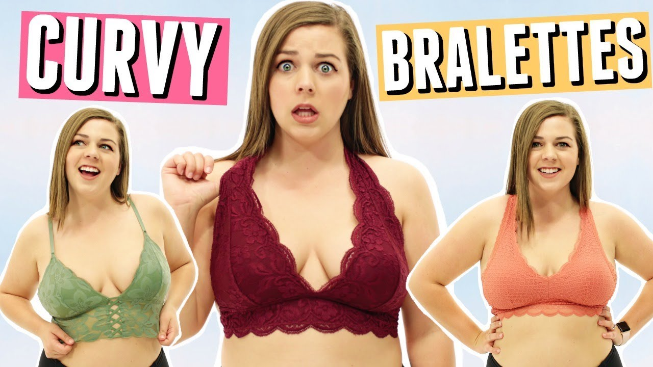97a96985aa Best Bralettes For CURVY Girls! - YouTube