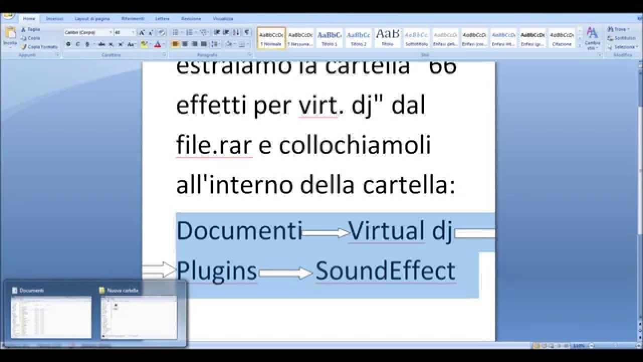 effetti sonori per virtual dj