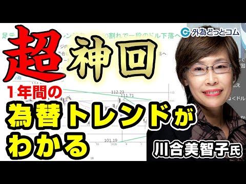FX「超神回!2021年の為替トレンドがわかる」川合 美智子氏
