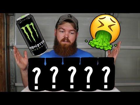 I Left 5 Things In Monster Energy For 30 Days...