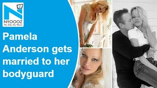 Pamela Anderson Gets Married To Her Bodyguard Dan Hayhurst In Intimate Ceremony