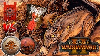 The Skaven Hordes Face The Norscan WAAAGH! | Total War Warhammer 2
