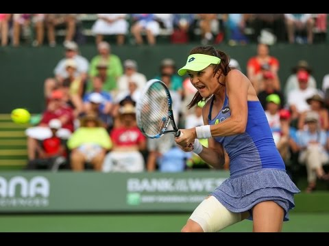 2016 BNP Paribas Open Second Round | Agnieszka Radwanska vs Dominika Cibulkova | WTA Highlights