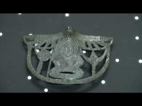 Process of 3d scanning of archaeological artifacts