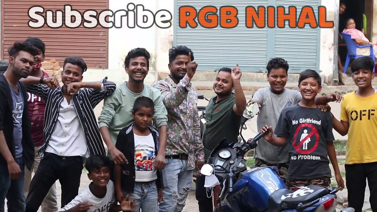 having fun with kids in my tole || Lockdown Fun ||  Subscribe RGB NIHAL