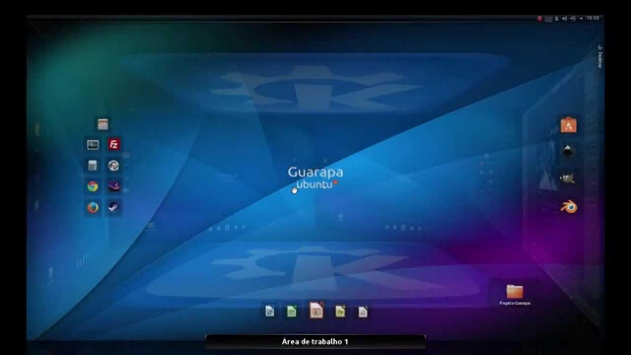 Curso De Linux Ubuntu 55 Efeito Cubo 3d Nas Reas De