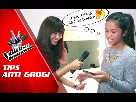 Tips Anti Grogi di Panggung The Voice Kids Indonesia GlobalTV 2016