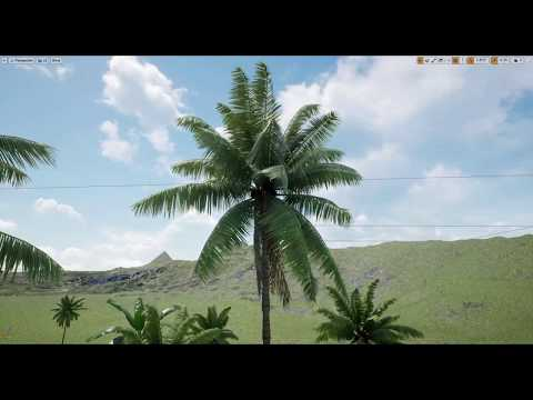 Procedural Foliage Box, Paint Brush And Grass Type In Ue4