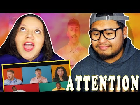 PENTATONIX - ATTENTION (OFFICIAL MUSIC VIDEO) | Charlie Puth COVER | REACTION