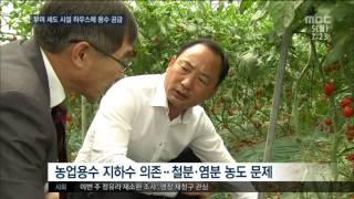[대전MBC뉴스]시설하우스에 용수공급..생산성 기대