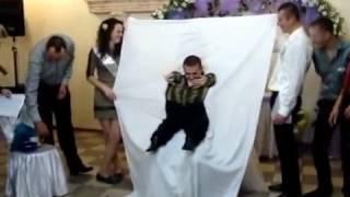 Ну очень смешной и веселый конкурс на свадьбе