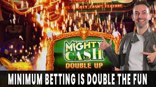 MAX FUN on Min Bet 🐲 Mighty Cash DOUBLE UP 🌽 PLUS DOUBLE on FarmVille