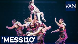 [MESSI10] Primeras imágenes del espectáculo dedicado a Leo Messi del Cirque du Soleil