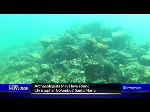 Archaeologist Claims He Found Columbus' Santa Maria