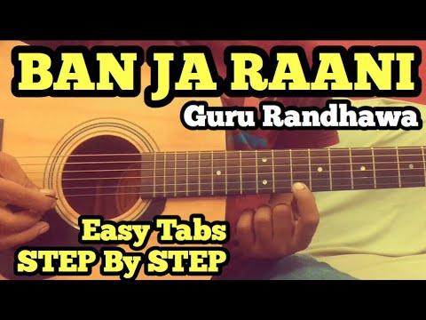 Ban Ja Tu Meri Rani Guitar Tabs/Lead Lesson | Guru Randhawa | Tumhari Sulu | Vidya Balan