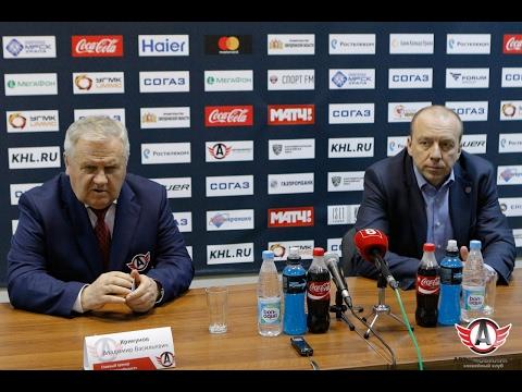 Пресс-конференция: Автомобилист - Сибирь (18.02.2017)
