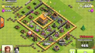 Clash of Clans #3 Une attaque riche en or