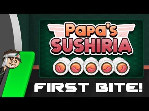 Papa's Sushiria- First Bite!  (feat. Erin)