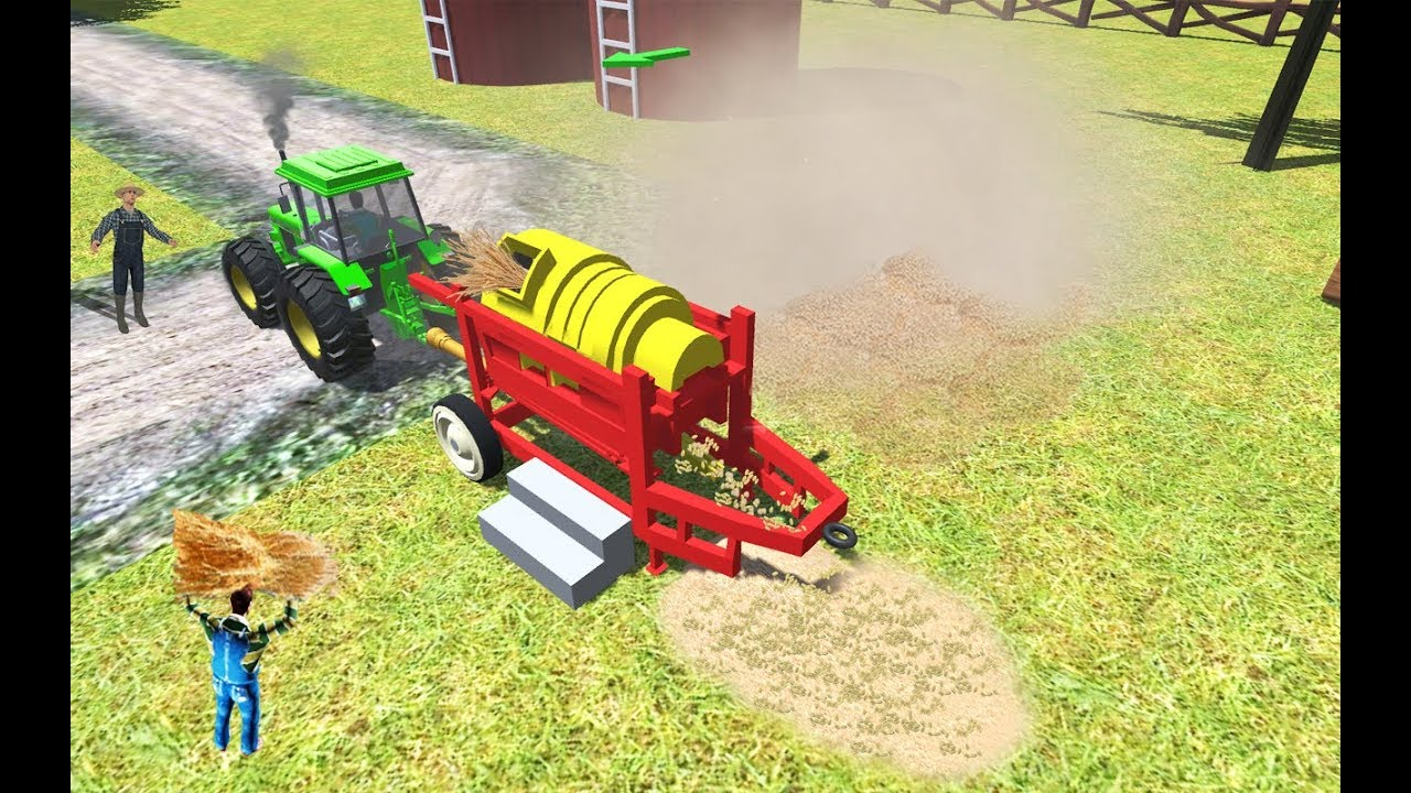 Tractor Videos Tractor Games For Kids Youtube