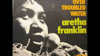 """Aretha Franklin - Bridge Over Troubled Water / Brand New Me - 7"""" France - 1971"""