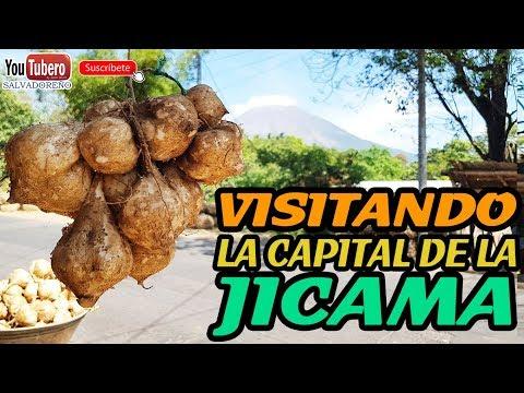 Visitando la Capital de la Jicama San Rafael Oriente San Miguel El Salvador sv